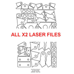 All X2 Laser Files