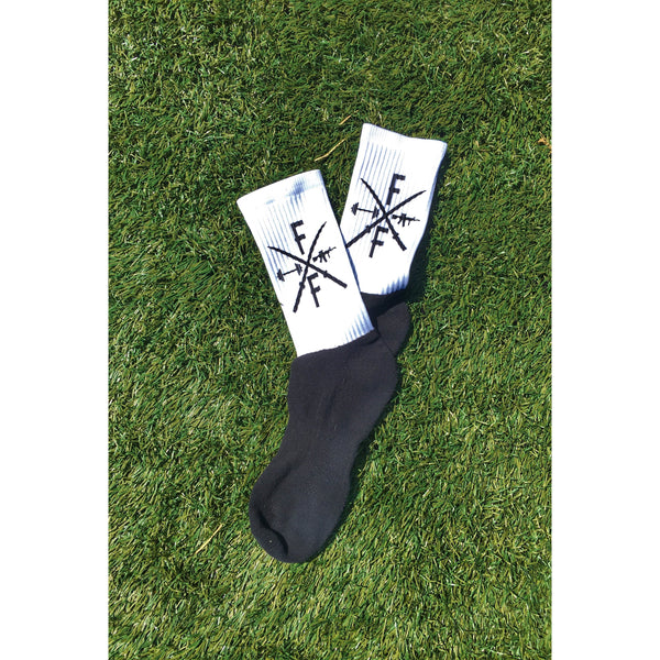 Sublimated Logo Socks
