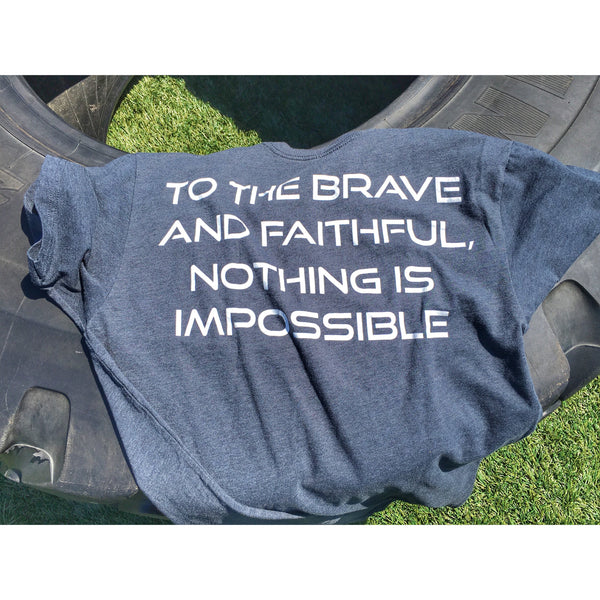 Unisex Brave and Faithful Tee