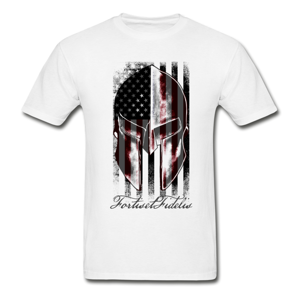 Men's Spartan Tee - white