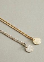 Delicate Guilloche Necklace