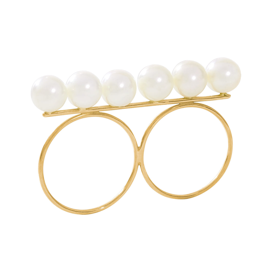 Ring Twinpearls