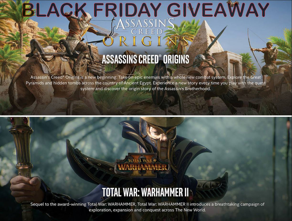 Black Friday Giveaway! Win Assassins Creed Origins