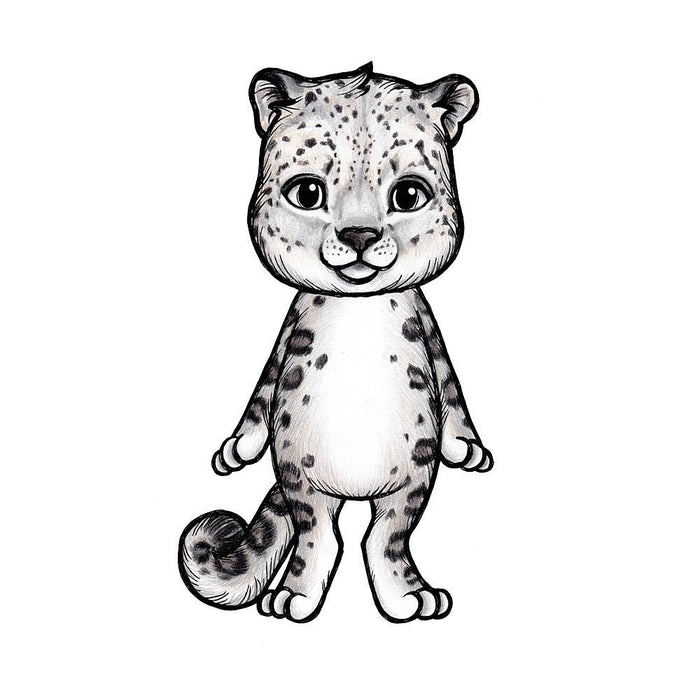 Wallsticker - Stickstay Leopard, Sam