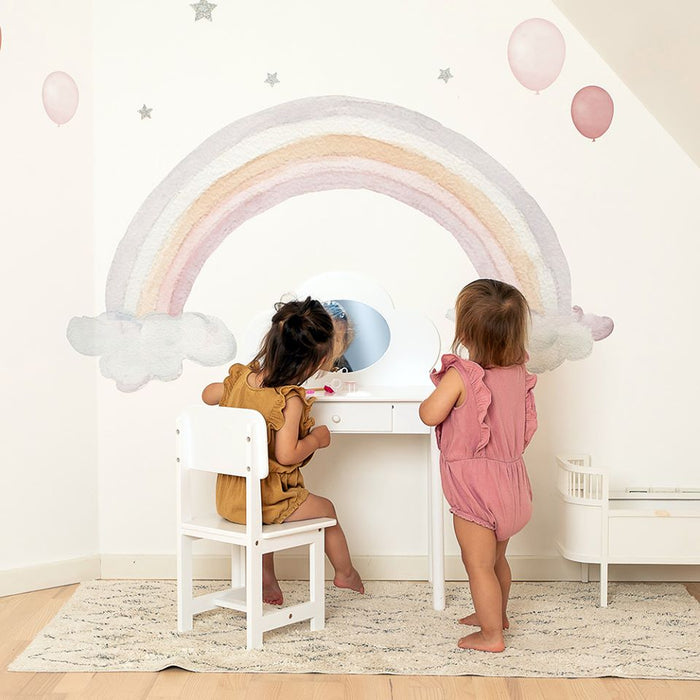 Wallsticker - That's Mine, Balloons 5 pk, Rose