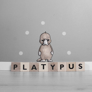 Wallsticker - Stickstay Platypus