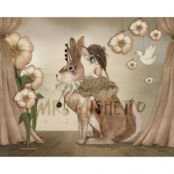 Mrs Mighetto - Poster/ Plakater - Miss Poppy (50x40)