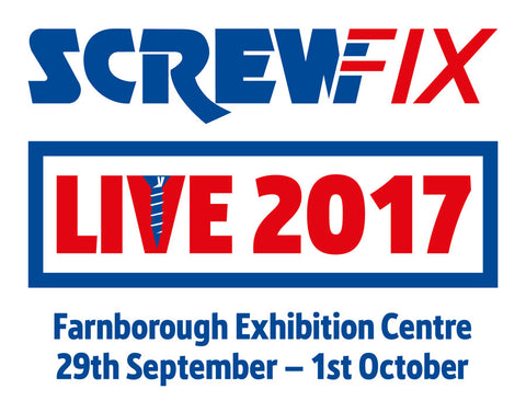 SCREWFIX LIVE FOR THE WHAT KNOT 29TH SEPTEMBER TO 1ST OCTOBER 2017