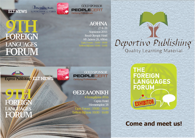 Deportivo Publishing exhibits in 9th FLF
