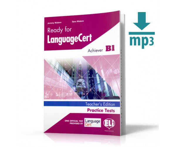 READY FOR LANGUAGECERT Practice Tests - Achiever (B1) - TB