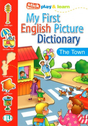 MY FIRST ENGLISH PICT. DICTIONARY - In Town