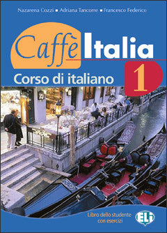 CAFFE' ITALIA  1  Student's Book + Booklet + audio CD