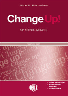 CHANGE UP Upper-Intermediate - TB + 2 Class CDs