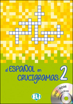 EL ESPANOL EN CRUCIGRAMAS 2 - New edition with DVD-ROM