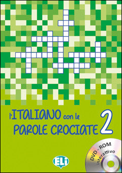 L'ITALIANO CON LE PAROLE CROCIATE 2 - New edition with DVD-ROM