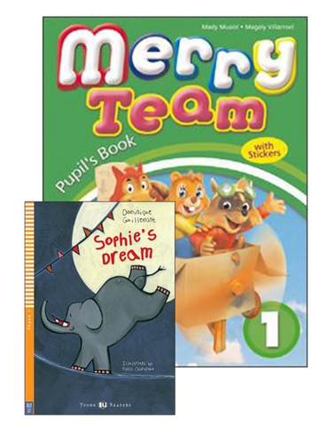 MERRY TEAM Student's Book 1 + Alphabet Book+Reader