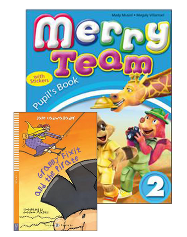 MERRY TEAM Student's Book 2+Reader