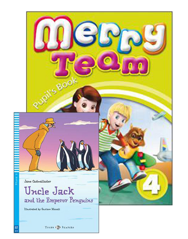 MERRY TEAM Student's Book 4+Reader