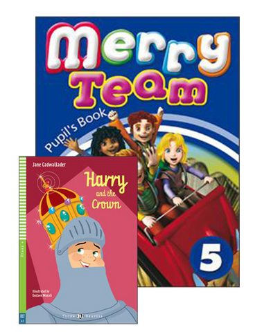 MERRY TEAM Student's Book 5+ Reader