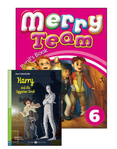 MERRY TEAM Student's Book 6+Reader