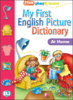 MY FIRST ENGLISH PICT. DICTIONARY - At Home