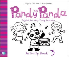 PANDY THE PANDA Activity Book 3