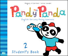 PANDY THE PANDA Pupil's Book 2 + song audio-CD