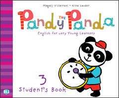 PANDY THE PANDA Pupil's Book 3 + song audio-CD