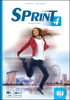 SPRINT 4 - SB + downloadable Student's Digital Book +Reader (Expedition Brazil+Cd)
