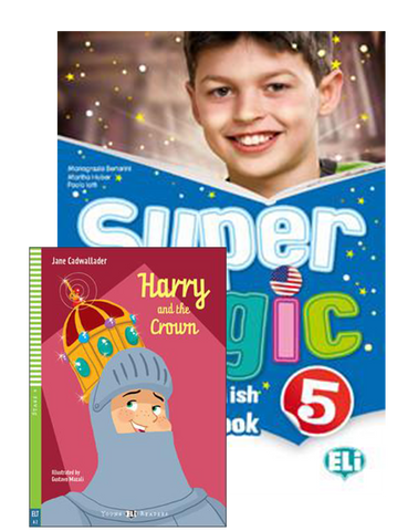 SUPER MAGIC Student's Book 5+Reader