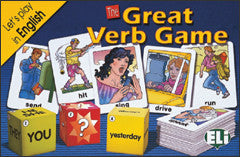 The Great Verb Game - Game Box + Digital Edition