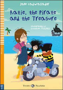 Katie, the Pirate and the Treasure + CD