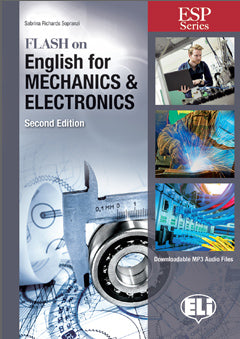 FLASH ON ENGLISH  for Mechanics, Electronics and Technical Assistance - New 64 page edition