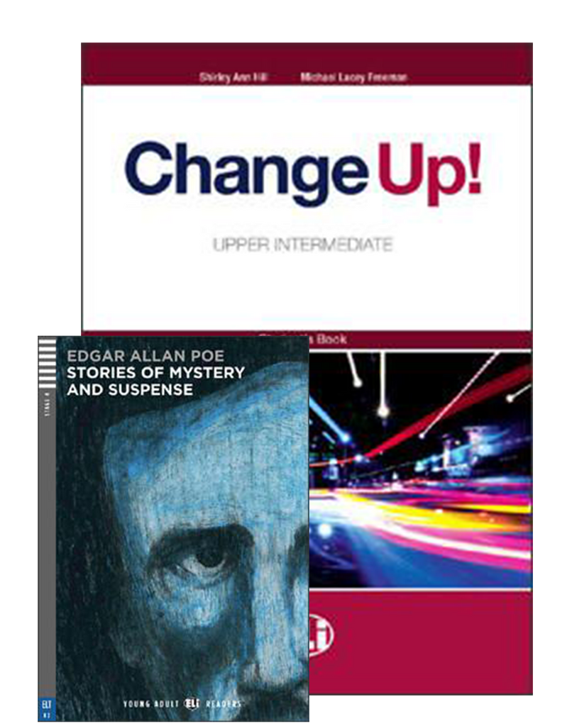 CHANGE UP Upper-Intermediate - SB & WB (one volume) + 2 Audio CDs+Reader
