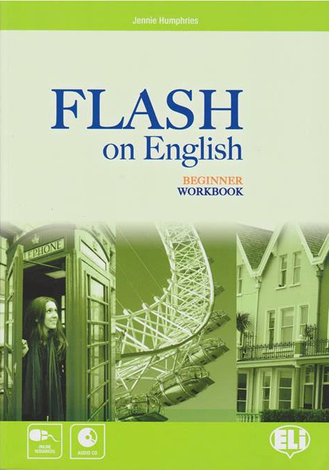 FLASH ON ENGLISH Beginner level - WB + Audio CD