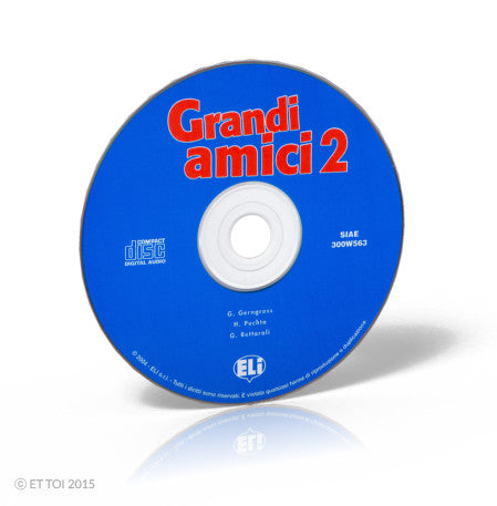 GRANDI AMICI 2 Audio CD