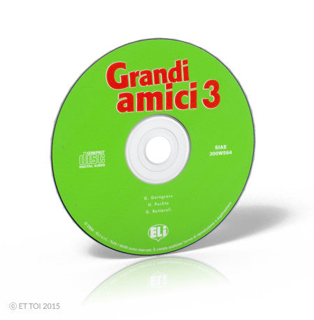 GRANDI AMICI 3 - CD Audio
