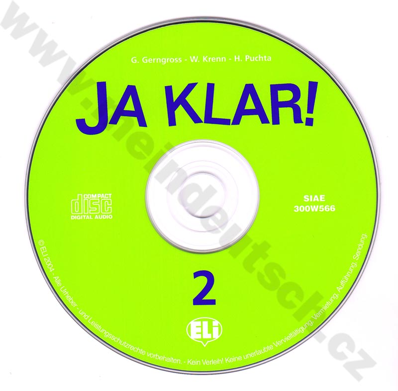 JA KLAR! 2 - CD Audio