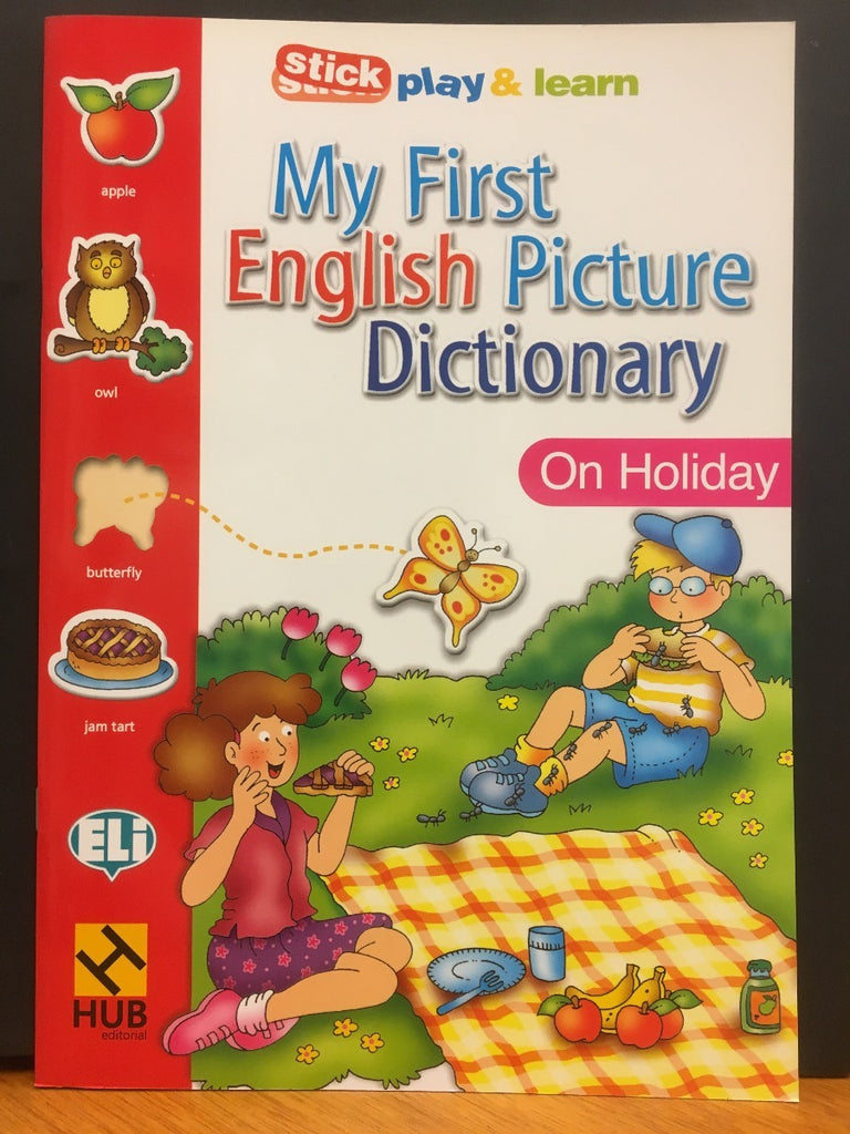 MY FIRST ENGLISH PICT. DICTIONARY - On Holiday