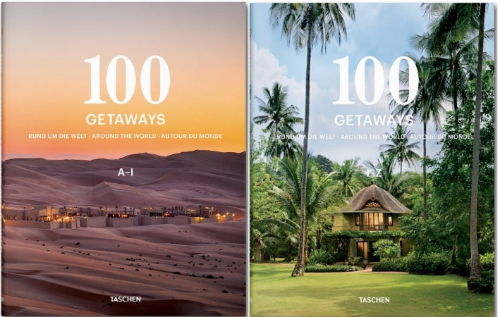 TASCHEN 100 Getaways Around the World
