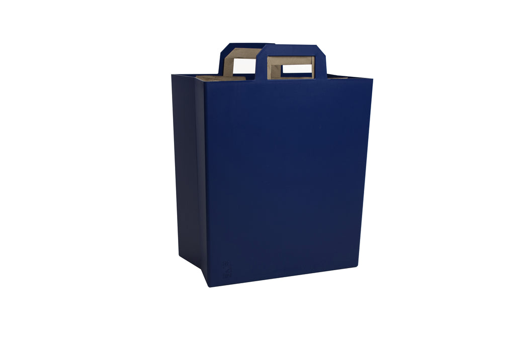 I N D I G O  |  Modern Recycle Bin in Blue
