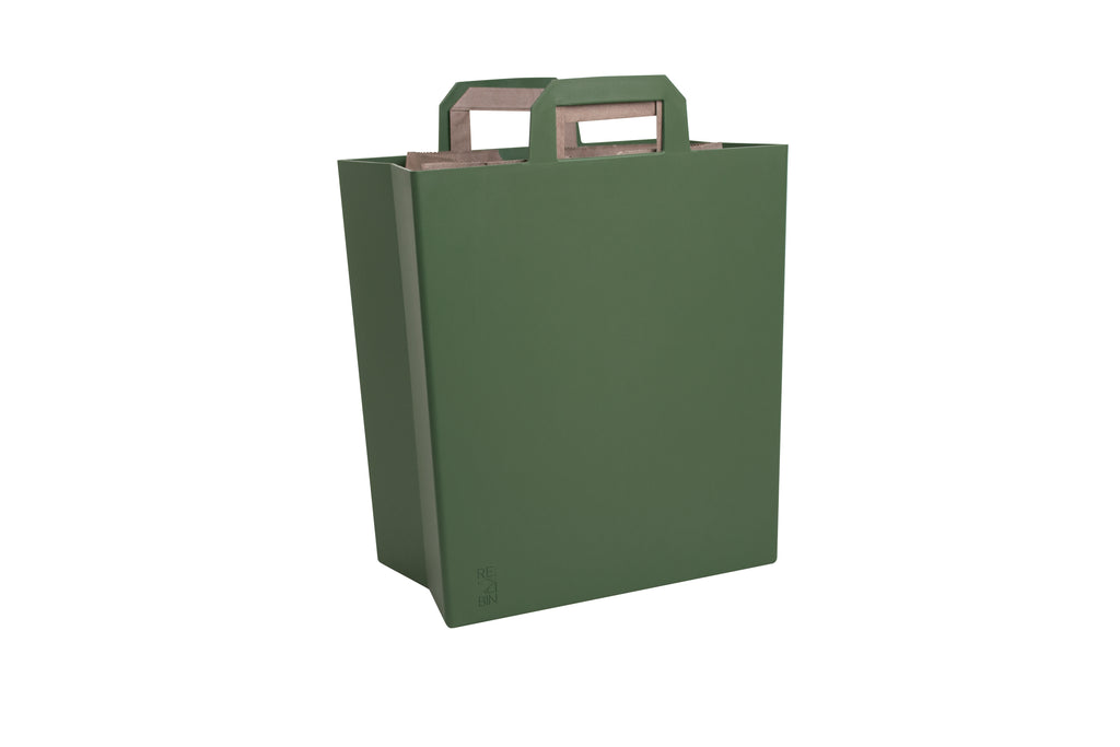 M O S S  |  Modern Recycle Bin in Green