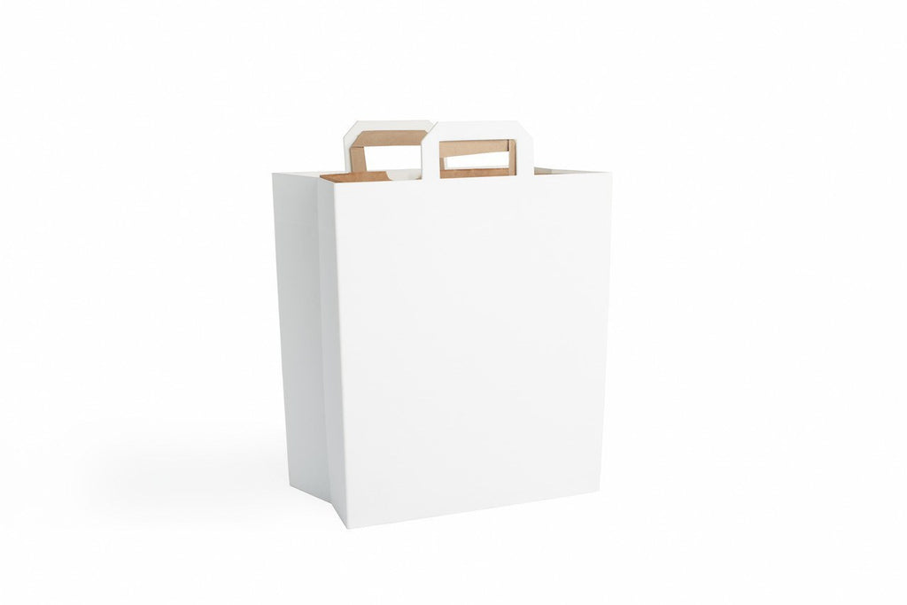 Q U A R T Z  |  Modern Recycle Bin in White