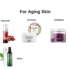 Starter Korean Skin Care Set for Mature Skin & Anti-Aging