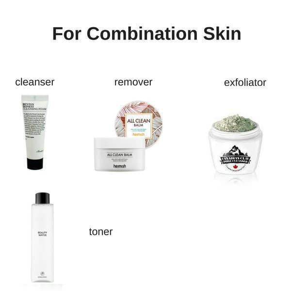 Starter Skin Care Set for Combination Skin
