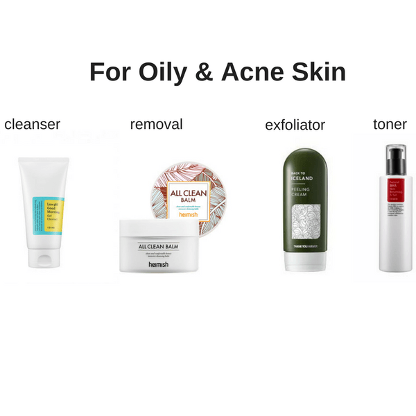 Starter Skincare Set for Oily & Acne Skin made by Lilac and Berries is a Skincare kit lovingly curated by Lilac and Berries - a Korean skincare store in Australia and NZ