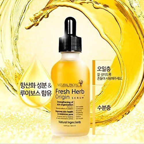 Natural Pacific Fresh Herb Origin Serum made by Natural Pacific is a Ampoule/Serum lovingly curated by Lilac and Berries - a Korean skincare store in Australia and NZ