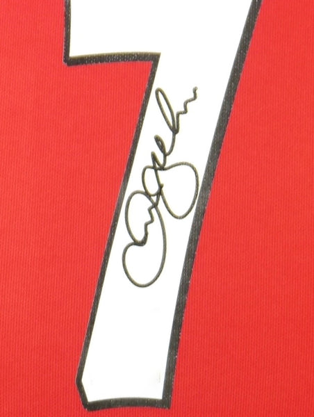 David Beckham Manchester United Signed Shirt Display With COA