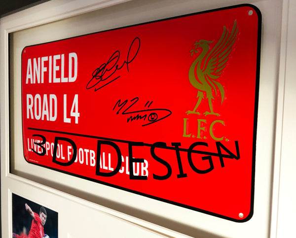 Frank Lampard and John Terry Signed Chelsea Street Sign 3D Display with COA - Kicking The Balls