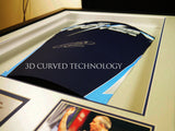 Steven Gerrard Rangers Rear Signed 3D Display with COA - Kicking The Balls